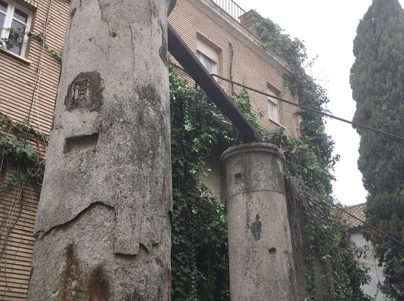 Roman ruins in Seville, Spain
