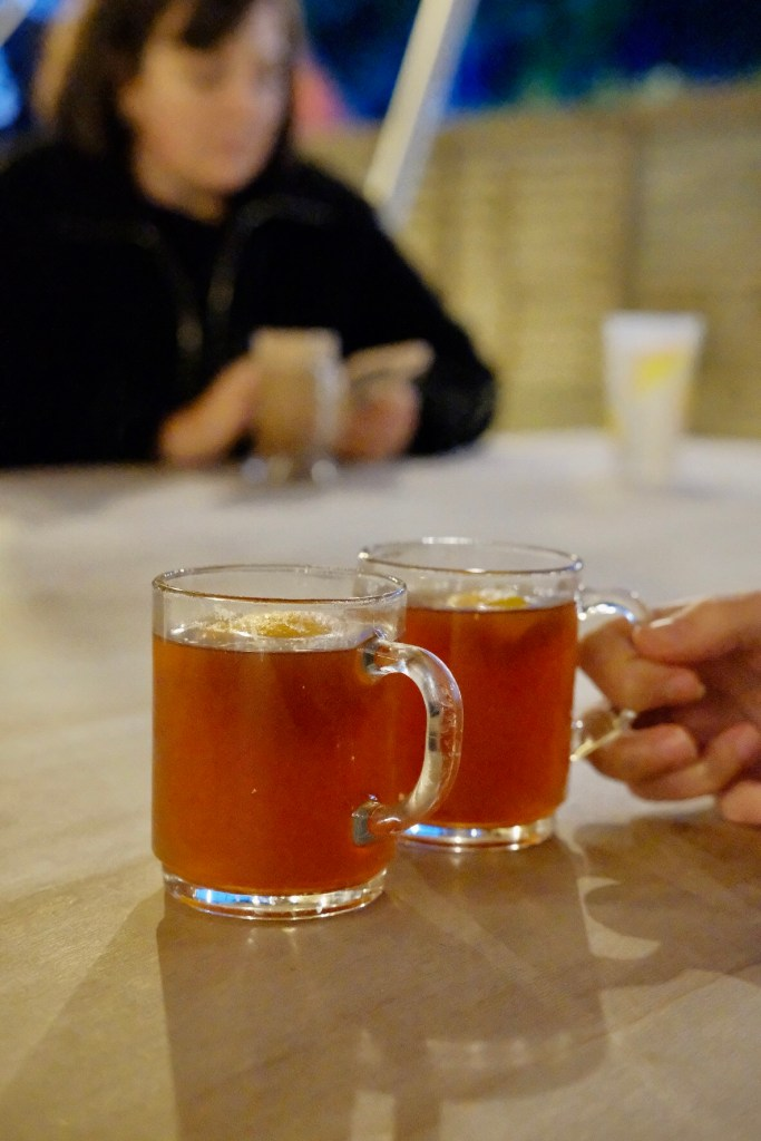 Mulled cider at The Pipe and Lovers at Breaking Bread Bristol