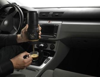 Handpresso Auto: The Espresso Machine For The Car