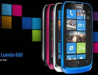 Nokia Lumia 610 with NFC