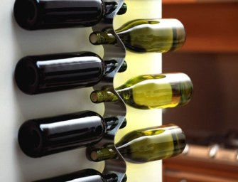 Black+Blum flow Wall Mounted Wine Rack