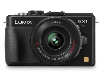 Panasonic Lumix DMC-GX1 With G X Vario PZ 14-42mm