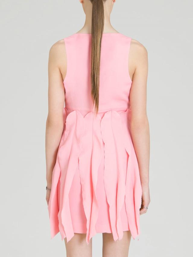 Small Waves Silk Dress by Rosario Boncoraglio