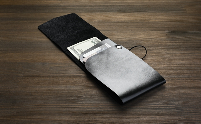 MANEKIBOOK BLACK  WALLET 2