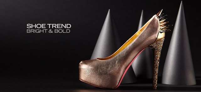 Shoe Trend Bright & Bold at MYHABIT