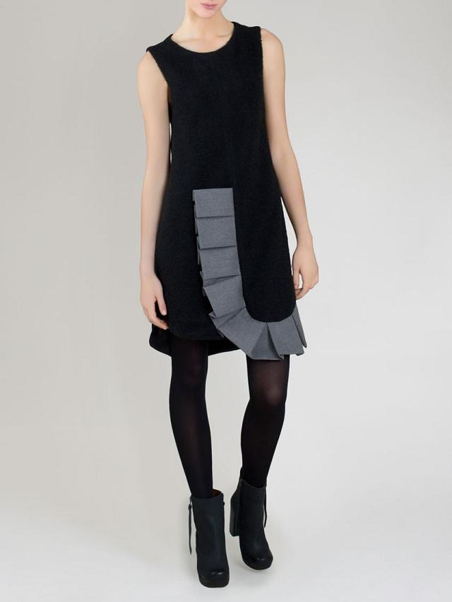 Yusuke Maegawa Sleeveless Ruffle Dress