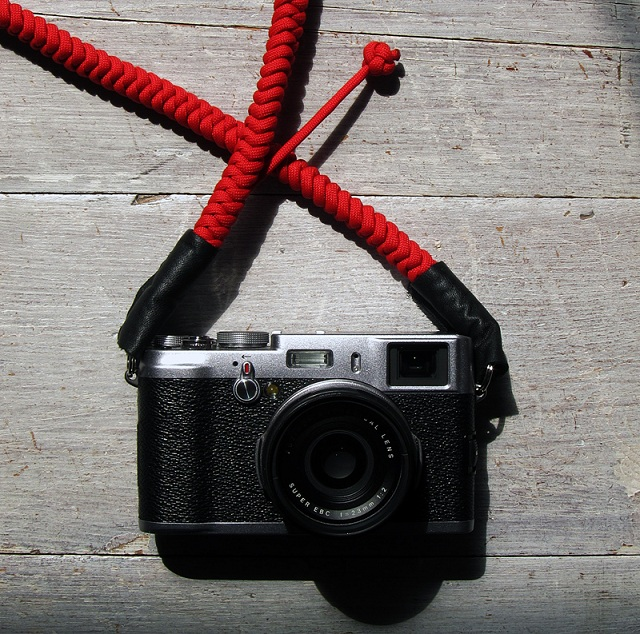 Bespoke Camera Strap by Tim Irving