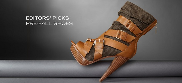 Editors' Picks Pre-Fall Shoes at MYHABIT