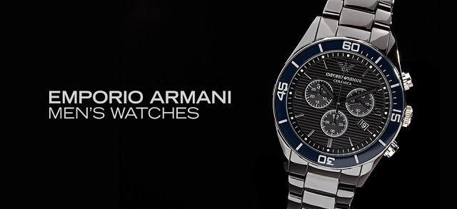 Emporio Armani Men's Watches at MYHABIT