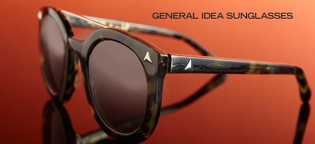 General Idea Sunglasses at MYHABIT