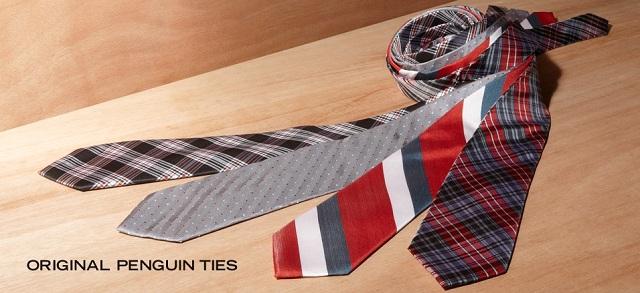 Original Penguin Ties at MYHABIT