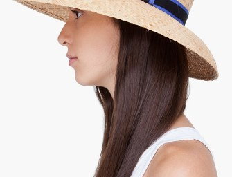 Rag & Bone Straw Wide Brim Beach Hat