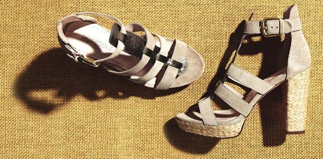 Rosegold Women's Pana Platform Sandal