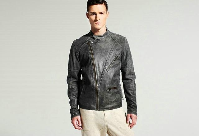 Yigal Azrouël Leather Jacket