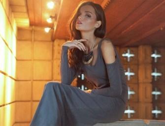 lovers + friends Date Night Maxi Dress in Slate