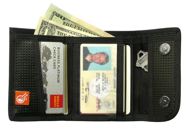 Civilian Lab Tri-Fold Leather Clip_ Lossless Wallet