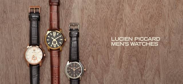 Lucien Piccard Men's Watches at MYHABIT