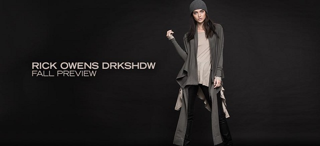 Rick Owens DRKSHDW Fall Preview at MYHABIT