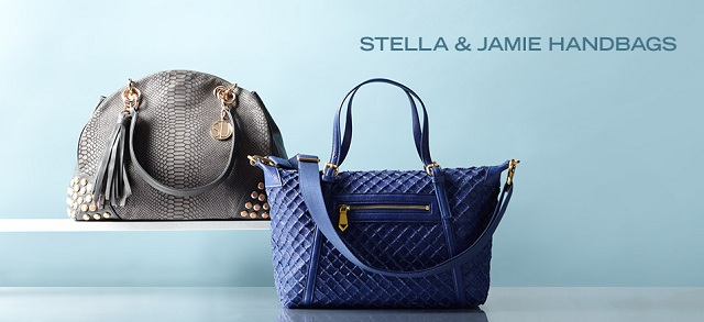 Stella & Jamie Handbags at MYHABIT