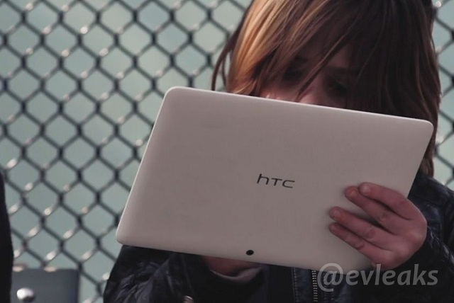 Unknown HTC tablet