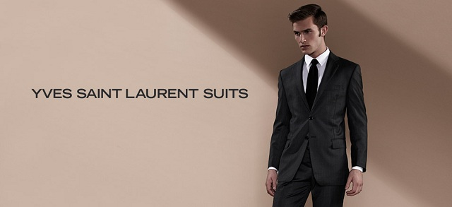 Yves Saint Laurent Suits at MYHABIT