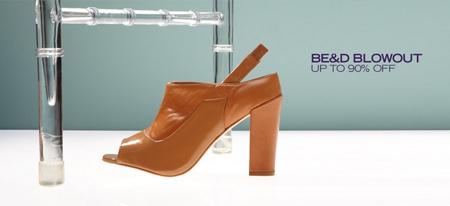 Be&D Blowout: Up to 90% Off at MYHABIT