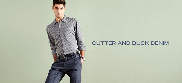Cutter and Buck Denim at MYHABIT