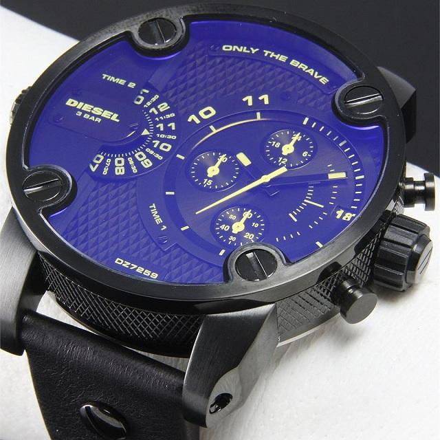 Diesel DZ7257 Mens SBA Only The Brave Revo Glass Watch
