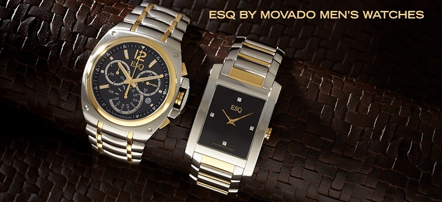 ESQ by Movado Men's Watches at MYHABIT