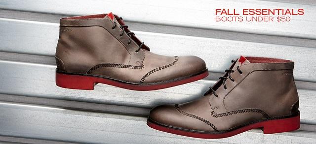 Fall Essentials: Boots Under $50 at MYHABIT