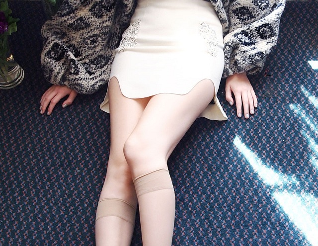 Helena Tellow Turbulence Seat 8 D Wool Skirt