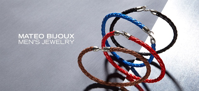 Mateo Bijoux Men's Jewelry at MYHABIT