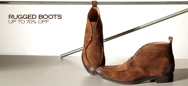 Rugged Boots: Up to 70% Off at MYHABIT