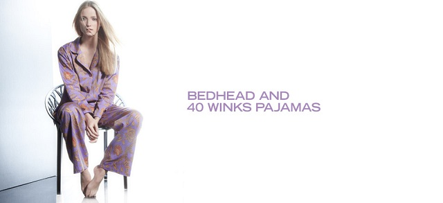 BedHead & 40 Winks Pajamas at MYHABIT
