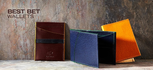 Best Bet: Wallets at MYHABIT