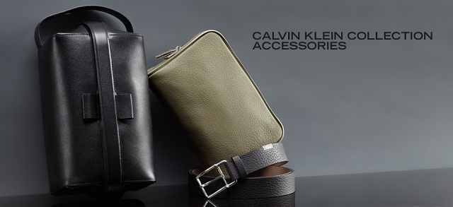 Calvin Klein Collection Accessories at MYHABIT