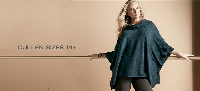 Cullen Sizes 14+ at MYHABIT