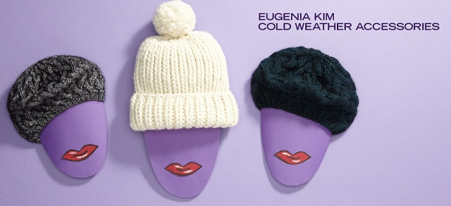Eugenia Kim Cold Weather Accessories at MYHABIT