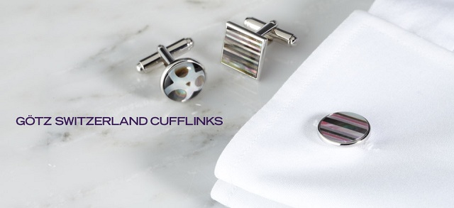GÖTZ Switzerland Cufflinks at MYHABIT
