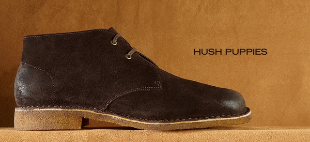 Hush Puppies at MYHABIT