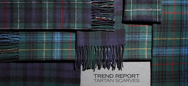 Trend Report: Tartan Scarves at MYHABIT