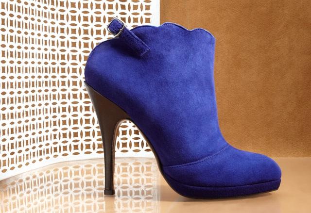 Claudia Ciuti Olivia Cobalt Footwear