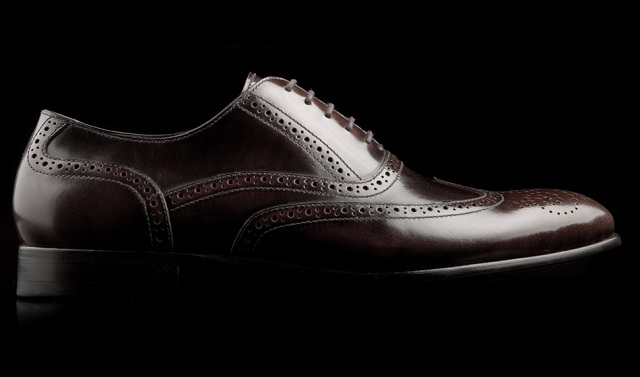 Gordon Rush Men's Barnet Medallion Wingtip