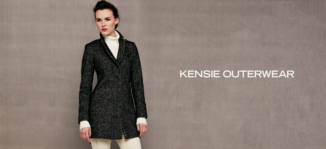 Kensie Outerwear at MYHABIT