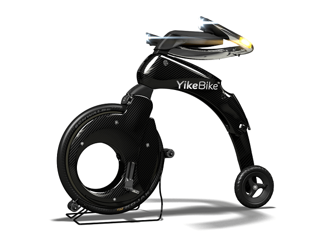 YikeBike Gold Carbon Version