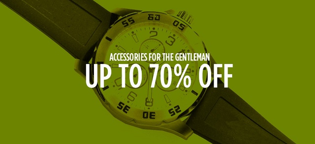 Accessories for the Gentleman: Up to 70% Off at MYHABIT