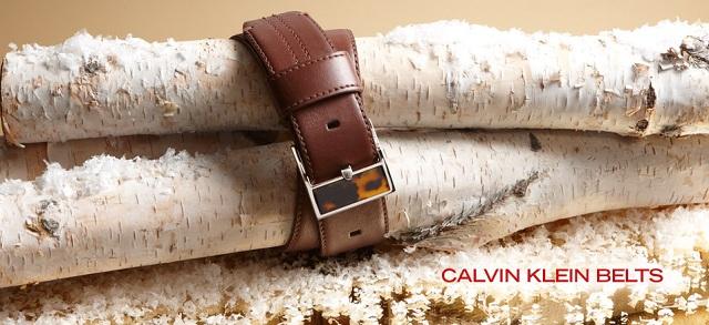 Calvin Klein Belts at MYHABIT