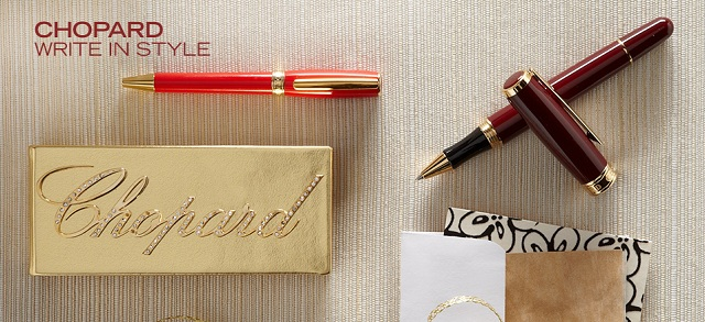 Chopard: Write in Style at MYHABIT