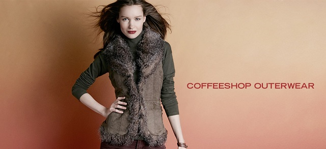 CoffeeShop Outerwear at MYHABIT
