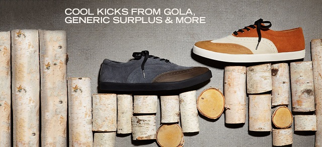 Cool Kicks from Gola, Generic Surplus & More at MYHABIT